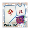 U2 PACK CAPA BAÑO + BIB + BOX