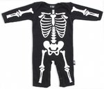 SKELETON PLAYSUIT