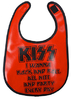 KISS ROCK N ROLL BIB