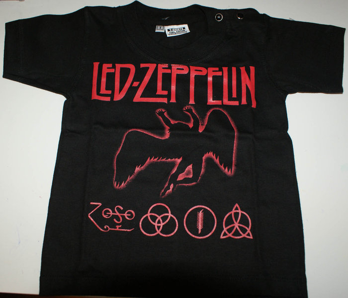 led zeppelin zoso t shirt rockillos. Black Bedroom Furniture Sets. Home Design Ideas