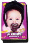 LIL VAMPIRE HEADBAND AND PACIFIER SET
