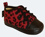 RED LEOPARD SKIN SHOES