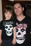 SET OF T-SHIRT DAD-ROCKILL@ MISFITS