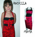 PIN UP TATTOO DRESS SET MAMA-ROCKILLA