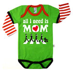 BODYSUIT BEATLES MOM
