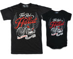 PACK CAMISETA-BODY PAPA-ROCKILL@ LIVE TO RIDE