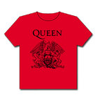 CAMISETA ROJA QUEEN