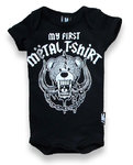 MY FIRST METAL SHIRT BODYSUIT