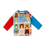 CAMISETA MANGA LARGA STAR BUARS