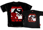 PACK CAMISETAS PAPA-ROCKILL@ METALLICA KILL