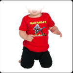 CAMISETA BEBE IRON MAIDEN