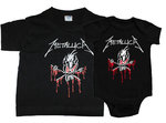 PACK CAMISETA-BODY METALLICA SHIT PAPA-ROCKILL@