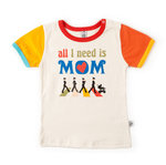 CAMISETA BEATLE MOM MANGA CORTA