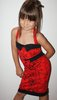 VESTIDO PIN UP ROJO ROCKILLA