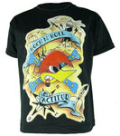 CAMISETA LOQUILLO ROCK N ROLL ACTITUD