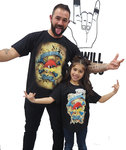 PACKS CAMISETAS PAPA-ROCKILL@ LOQUILLO ACTITUD