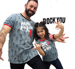PACK CAMISETAS HIJO/HIJA DEL ROCK