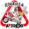 ROCKILLA A BORDO