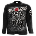 CAMISETA SONS OF ANARCHY MANGA LARGA