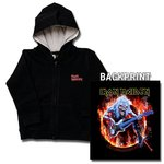 CHAQUETA IRON MAIDEN FLAME