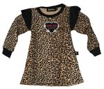 VESTIDO BABY POLO ROCK LEOPARDO